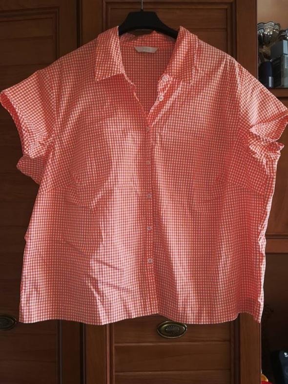 M&S koszula w kratkę dla puszystej 50