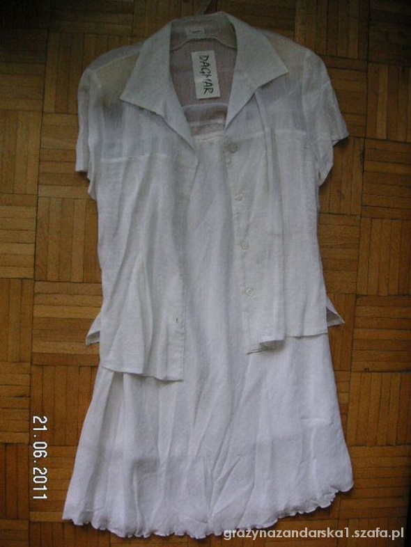 DAGMAR garsonka spodnica kostium 42 XL