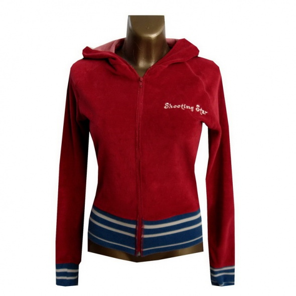 Vero Moda Czerwona Bluza z Kapturem 38 M...