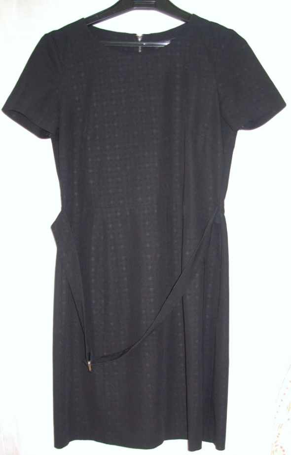 Czarna sukienka NEXT 36