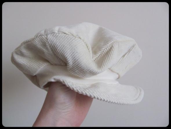 Czapka beret dla niemowlaka