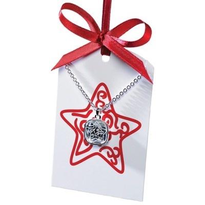 Nowy naszyjnik z karteczką na życzenia prezent