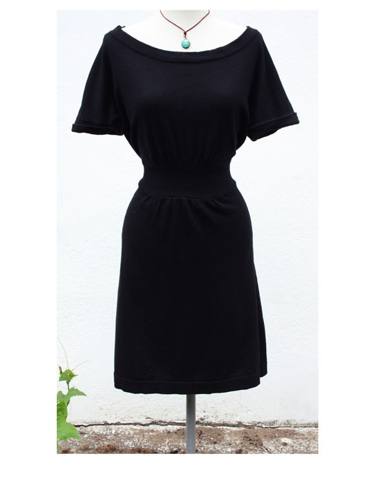 Czarna sukienka Yessica C&A