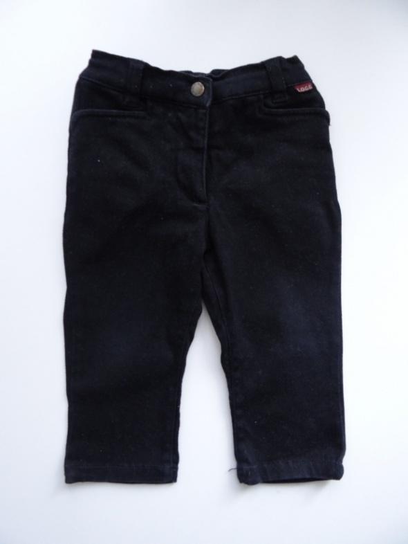 Czarne spodnie rozmiar 80