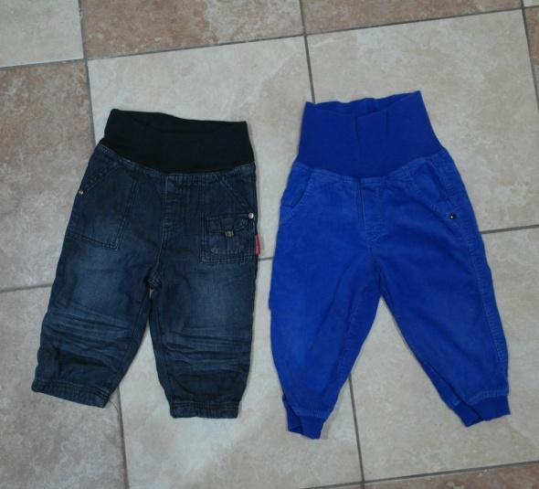 Super spodnie dla chłopczyka H&M 74 80