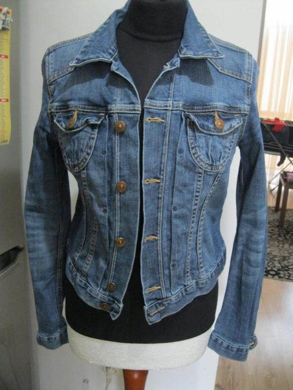 kurtka katana jeans H&M 38 skinny