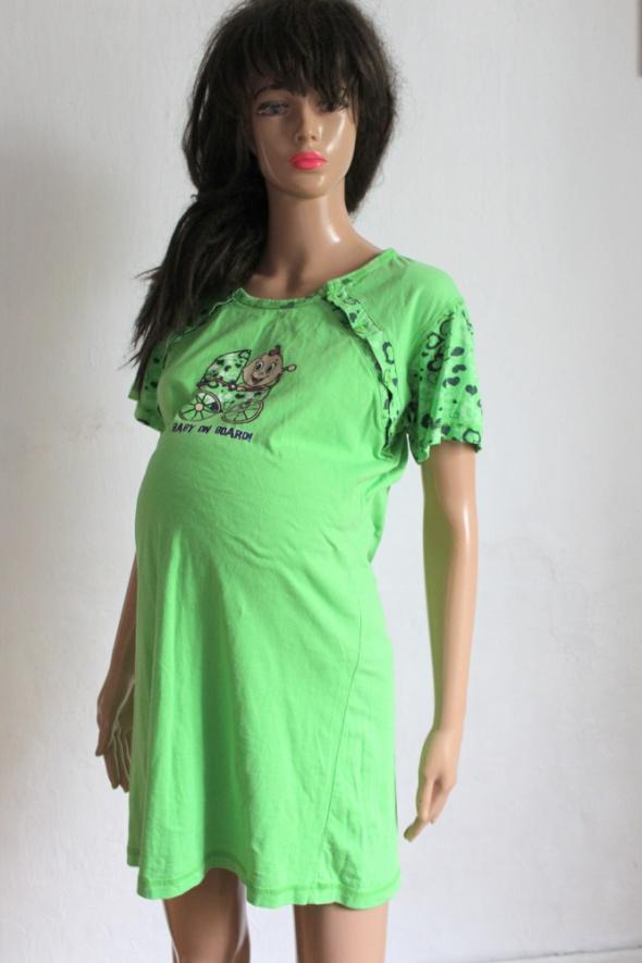 Ciążowa sukienka baby on board r 40 42