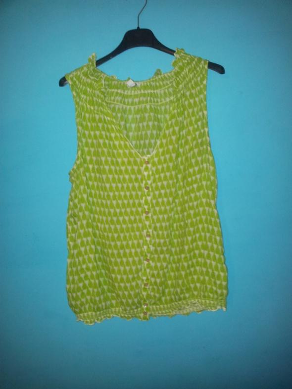 Zielona koszula bez rękawów GAP S