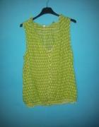 Zielona koszula bez rękawów GAP S...