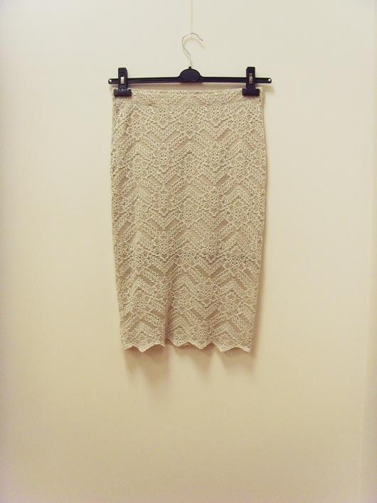 Spódnice Spódnica koronkowa pudrowy róż Top Secret 36