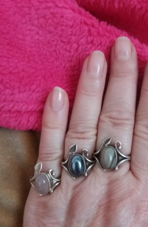 Stary pierścionek Warmet