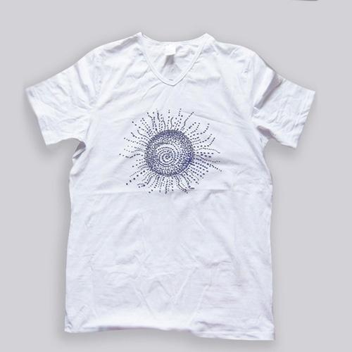 Biała koszulka Ethnic sun rozmiar L 1