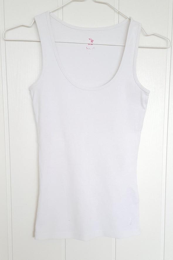 Koszulka biała Tally Weijl 36 S tank top podkoszulka