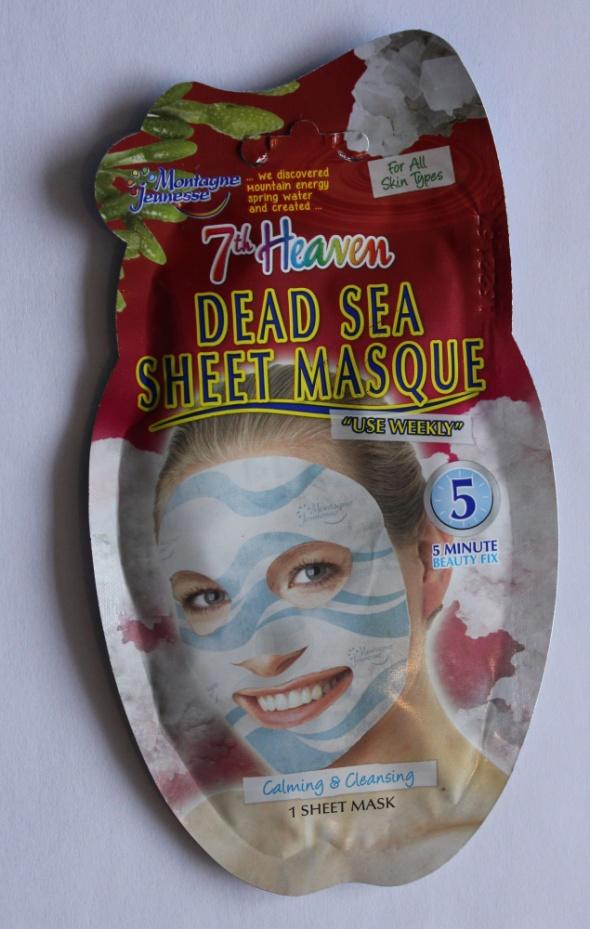 7th HEAVEN Maska minerały z morza martwego