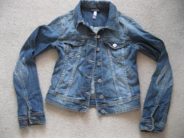 kurtka katana jeans BYHENRY HOLLAND 36 granat skinny