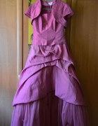 Suknia balowa na kole