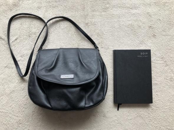 MANGO torebka czarna