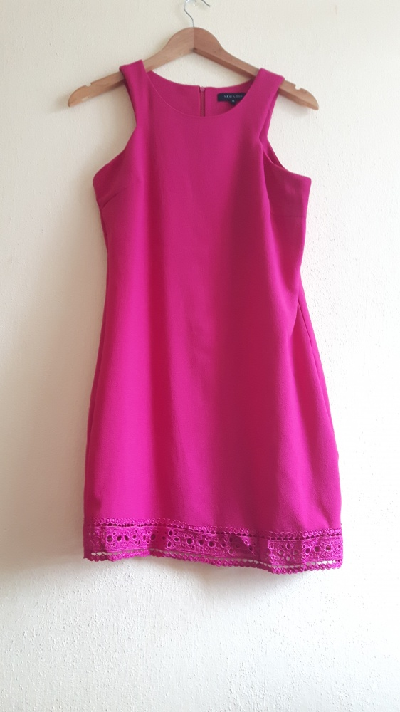 Różowa sukienka New Look