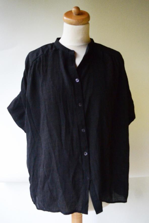 Bluzka Czarna Wizytowa Guziki Vero Moda XL 42 Luzna...