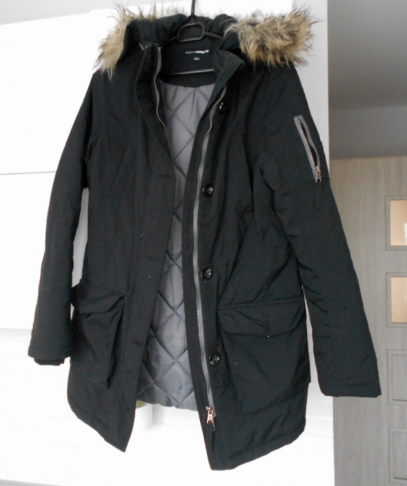 Odzież wierzchnia Kappahl ciepła parka kurtka zimowa płaszcz puchowy