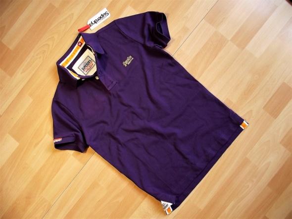 SUPERDRY Classic Pique Poloshirt koszulka M nowa