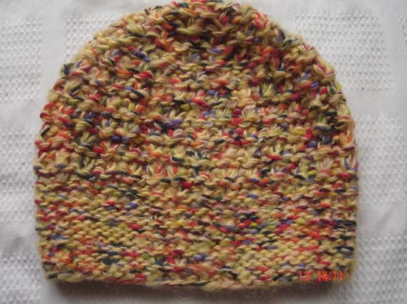 czapka ręcznie wykonana
