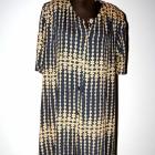 Długa sukienka zapinana rozm XXXL