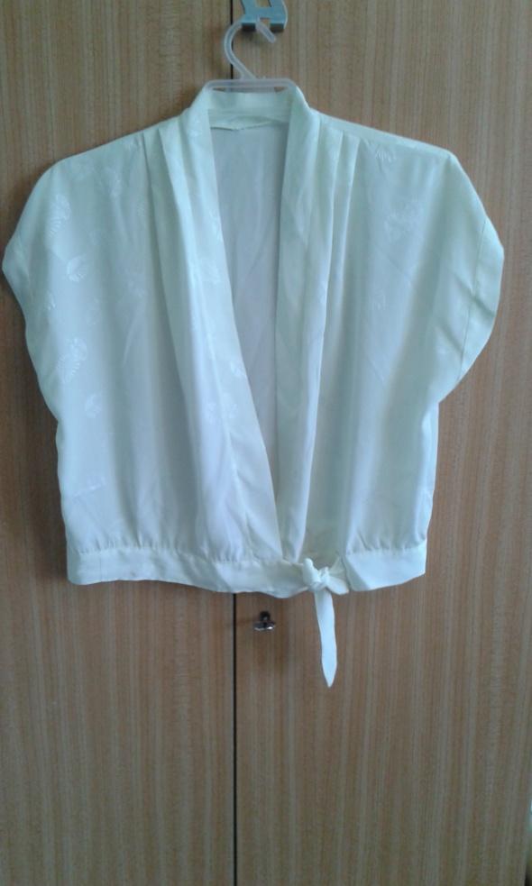Kopertowa wiązana bluzka 40 42