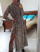 Długa sukienka marki Sheinside nowa...