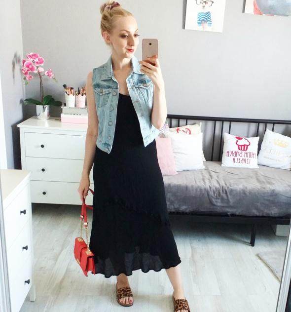 Sukienka plus jeans