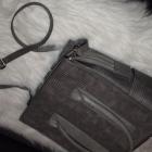 Diverser szara torba shopper bag