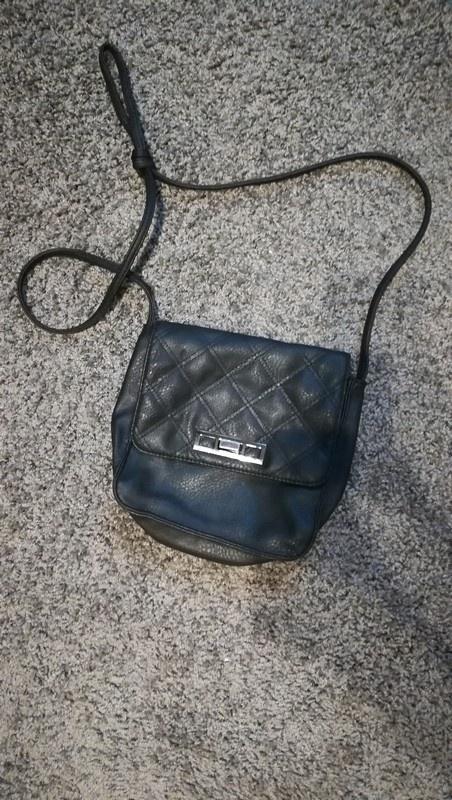 Mała torebka na pasku czarna Jenny Fairy CCC...