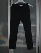Czarne Tregginsy spodnie H&M 9 10 lat 140cm...