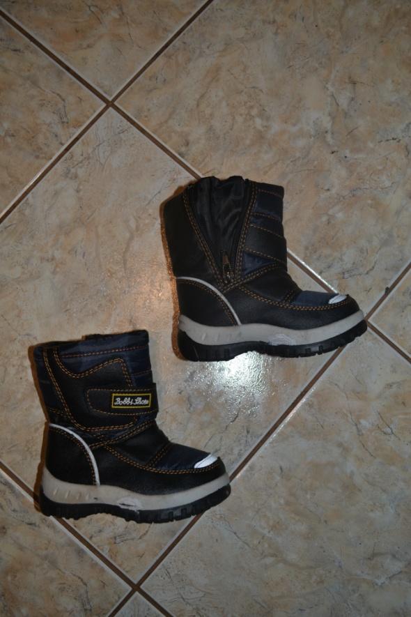 Obuwie jNowe Kozaczki 22rozm Bobbi Shoes