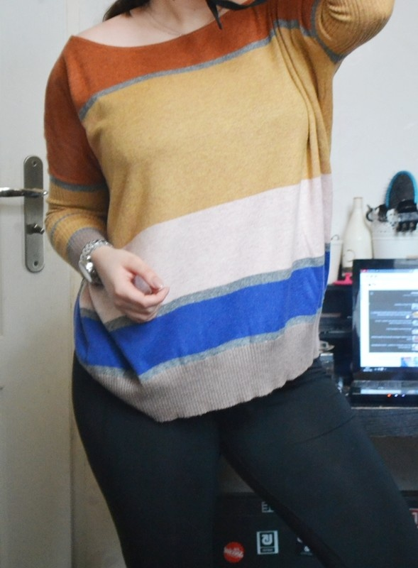 Sweter luźny oversize angora S M L 36 38 40