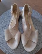 Skórzane sandały rozmiar 43 wkładka 28 cm Noevision...