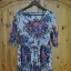 sukienka w kwiaty C&A...