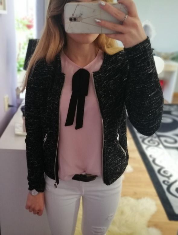 Tweedowa bomberka narzutka Gina Tricot