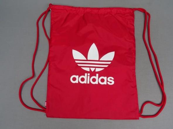 Czerwony plecak worek Adidas...