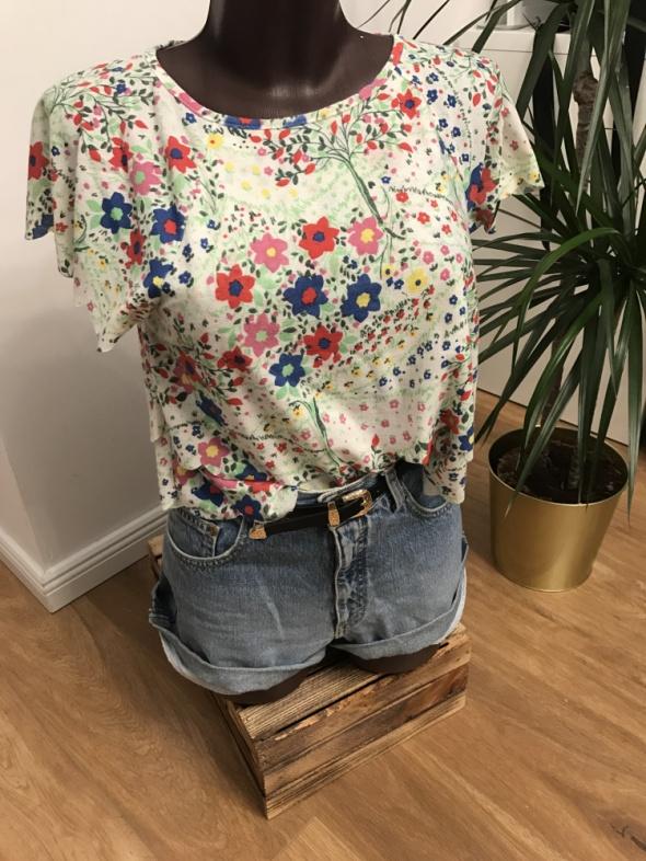 bluzeczka Top Shop w łączkę