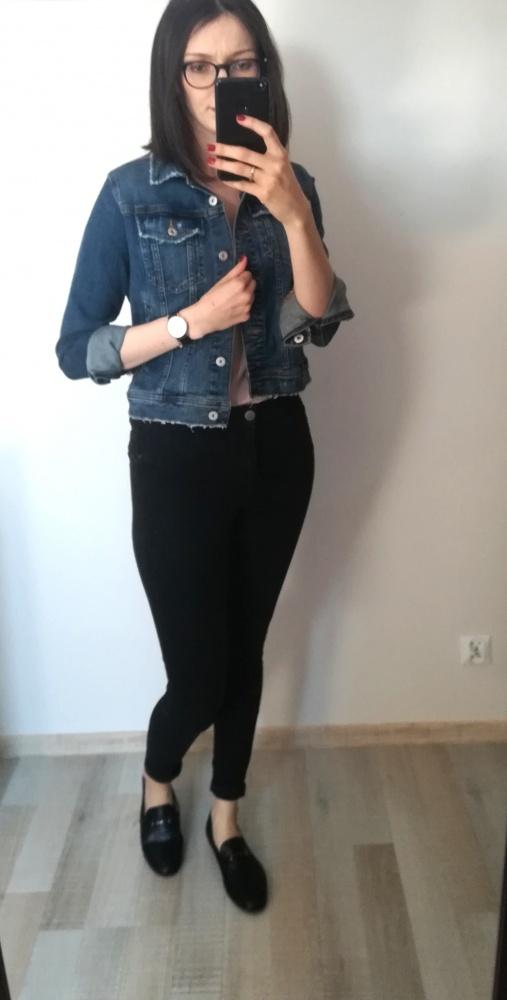 Kurtka jeansowa Zara...