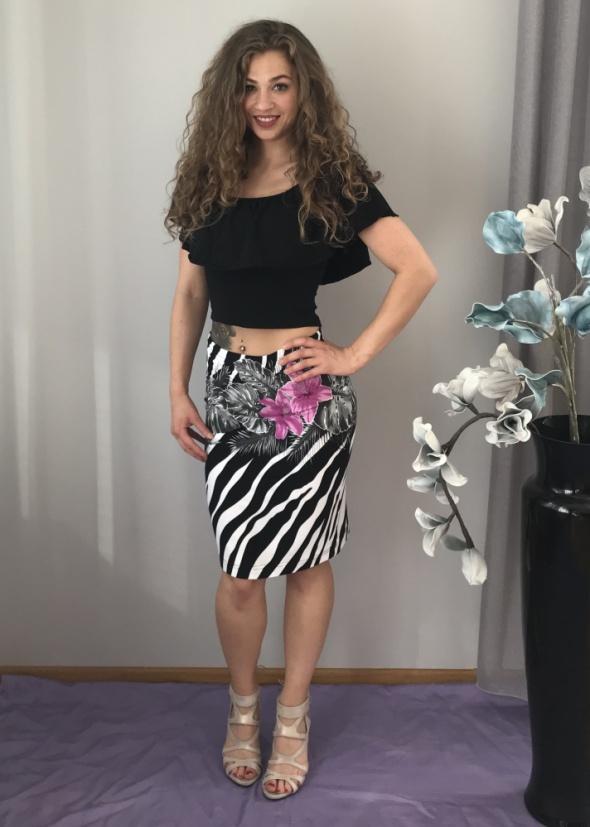Spódnice spódnica zebra