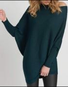 ORSAY sweter nietoperz z połyskiem asymetryczny rozm M...