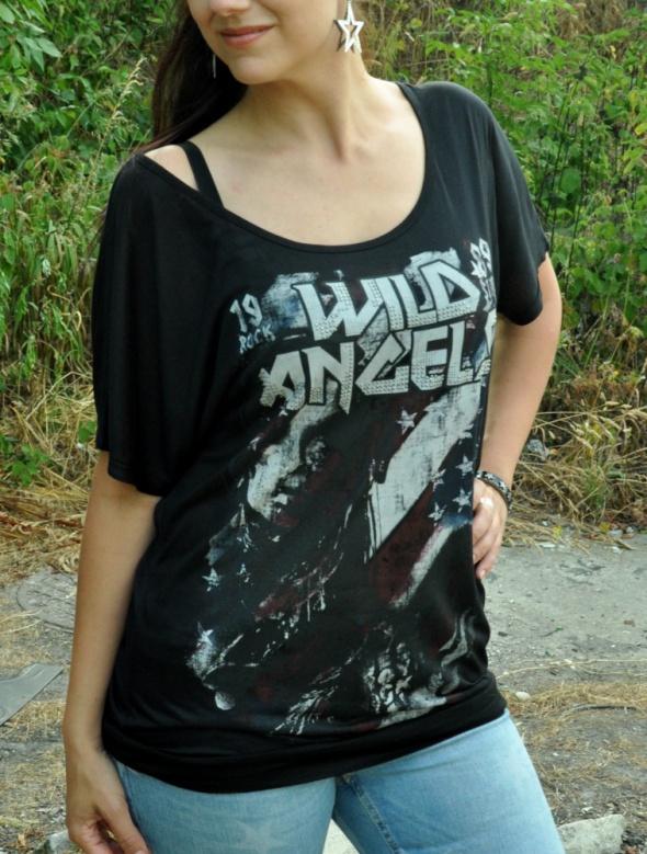 koszulka rock stars wild angels...