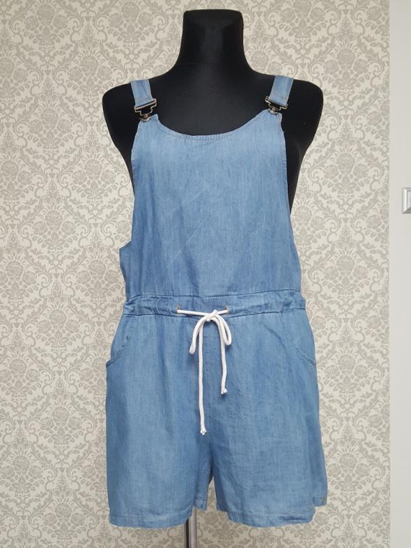 niebieski kombinezon jeans Made in Italy