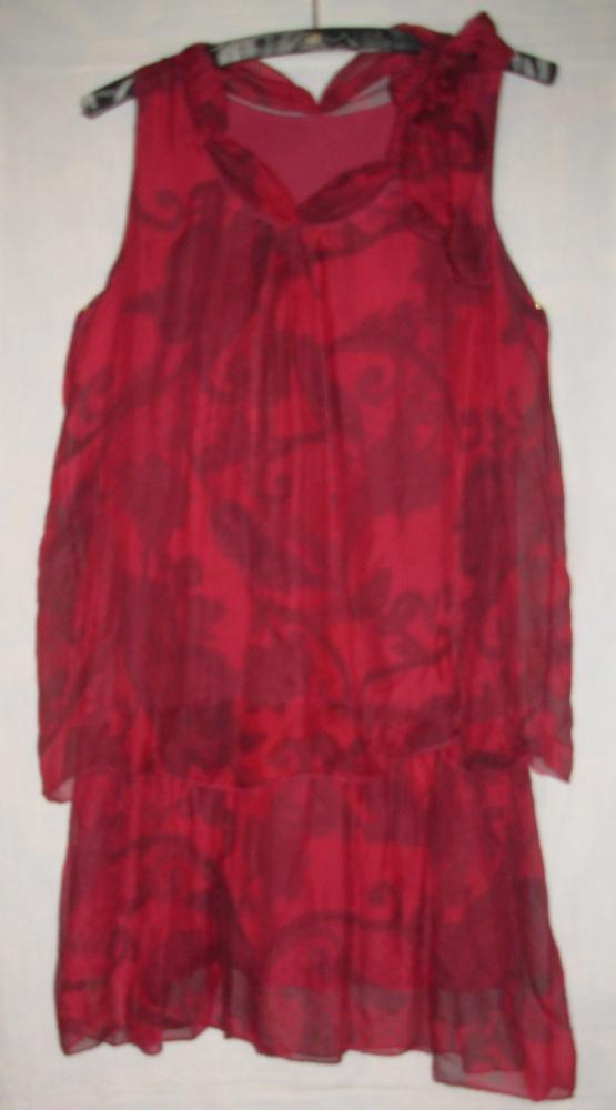 Jedwabna sukienka made in Italy M