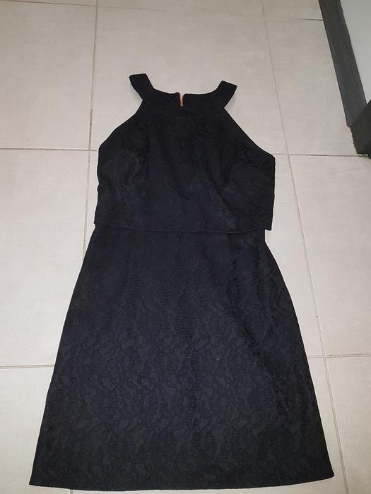 Suknie i sukienki mała czarna sukienka Only