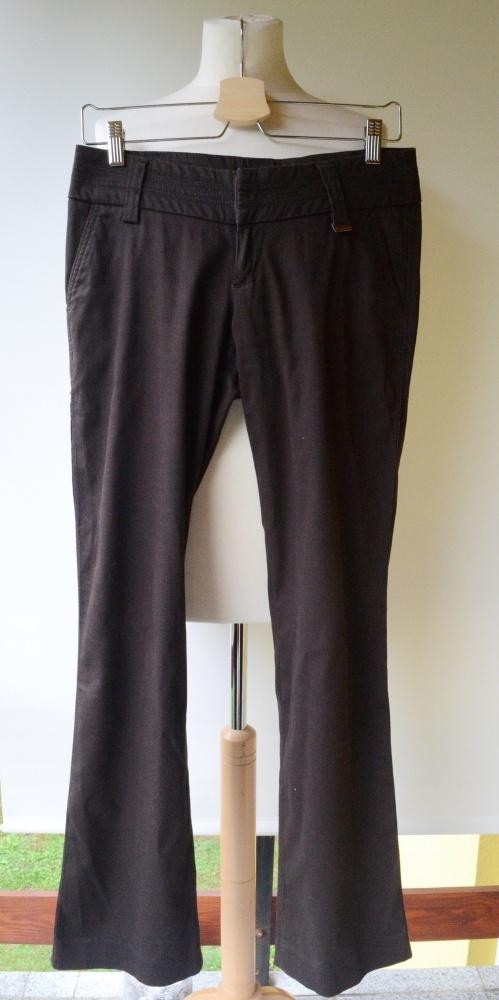 Spodnie Spodnie Brązowe Elegackie Do Pracy Reserved S 36