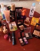 Zestaw kosmetyków używanych i nowych...
