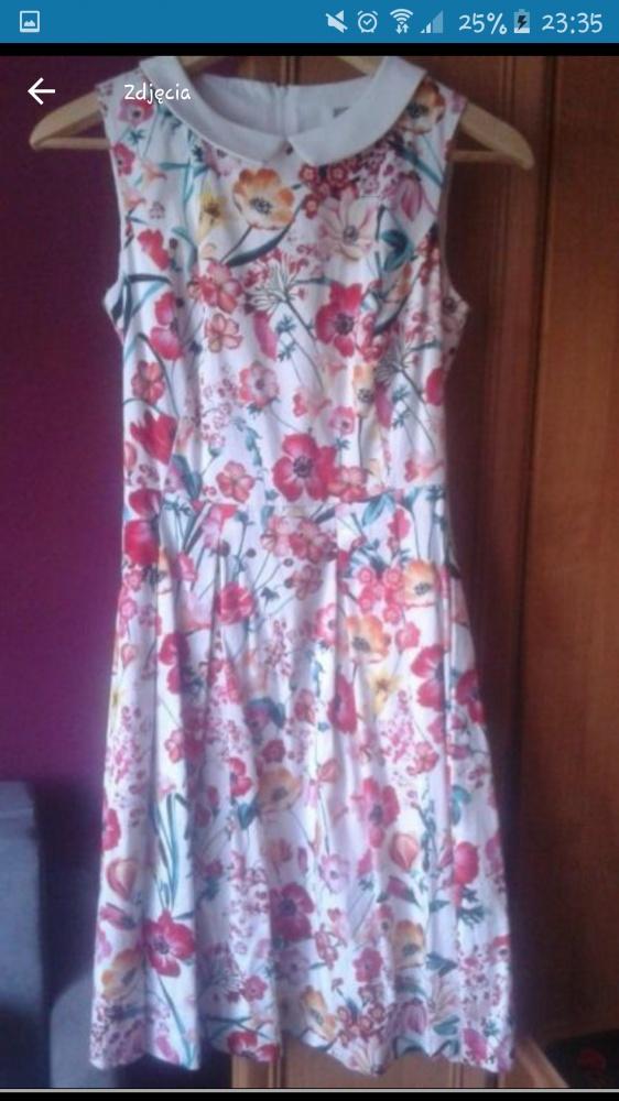 Sukienka Orsay 34 stan idealny...